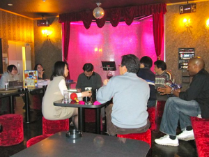 The Coolest Karaoke Room Ever!