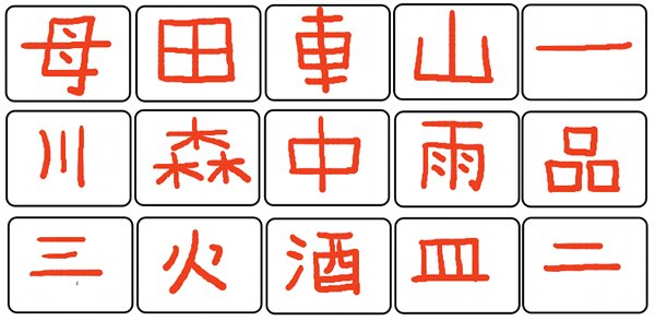 Answers to The Japan Guy Kanji Quiz
