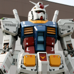 Torso of the might Gundam