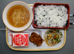 Japanese School Lunch Day Seven