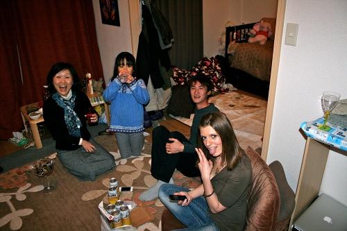 Thanksgiving in Japan 2012