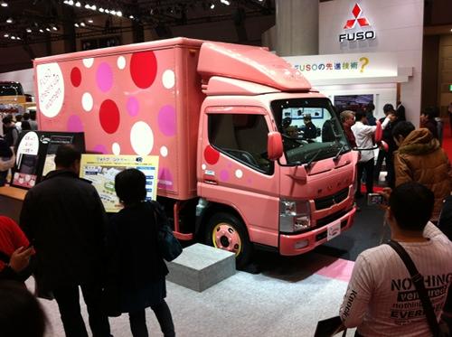 Fuso Truck Japan Pink