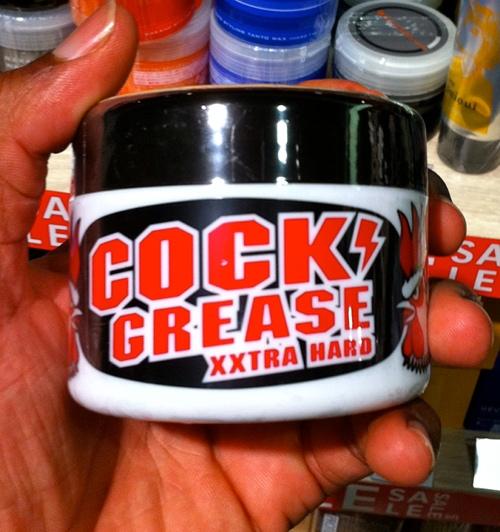 Cock Grease Hair Gel