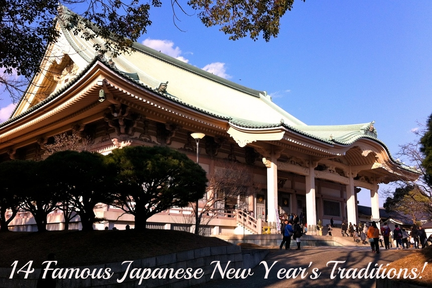 Famous Japanese New Year's Traditions in Japan