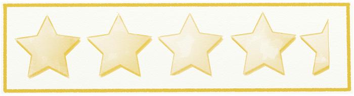 Nihongo Challenge Amazon Star Rating