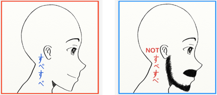 """I drew this sketch for a post on what I termed """"Japanese Dejavu Expressions.""""  If you wanna check it out, just click one of the heads :D"""