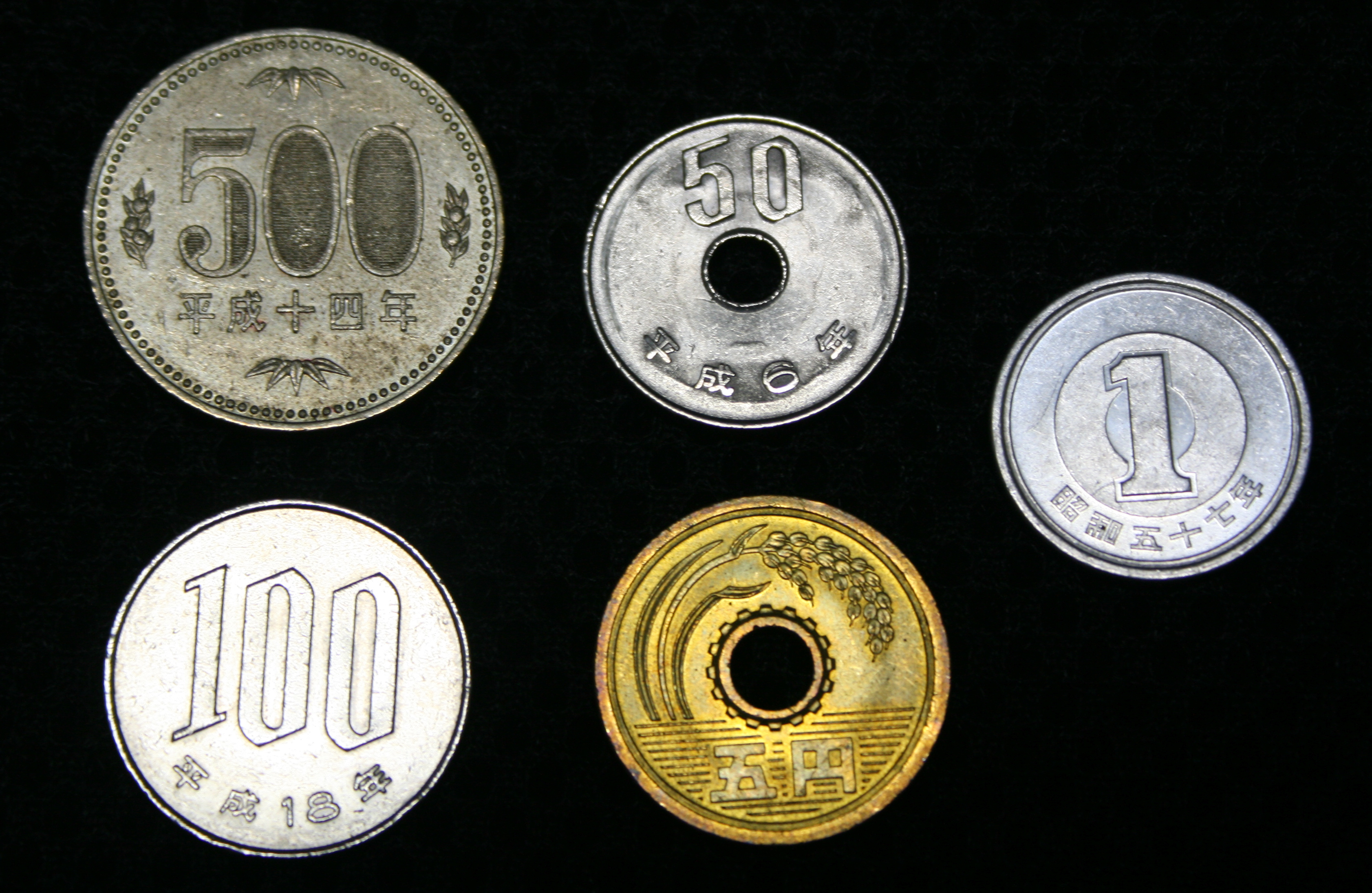 the yen Currency name : yen: currency symbol : ¥ web site : the bank of japan: denominations : bills come in allotments of ¥1,000, ¥2,000, ¥5,000 and ¥10,000.