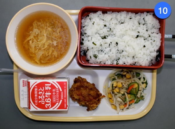 Japanese School Lunch Day 10
