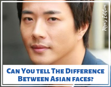 Asian Faces Quiz - Men's edition